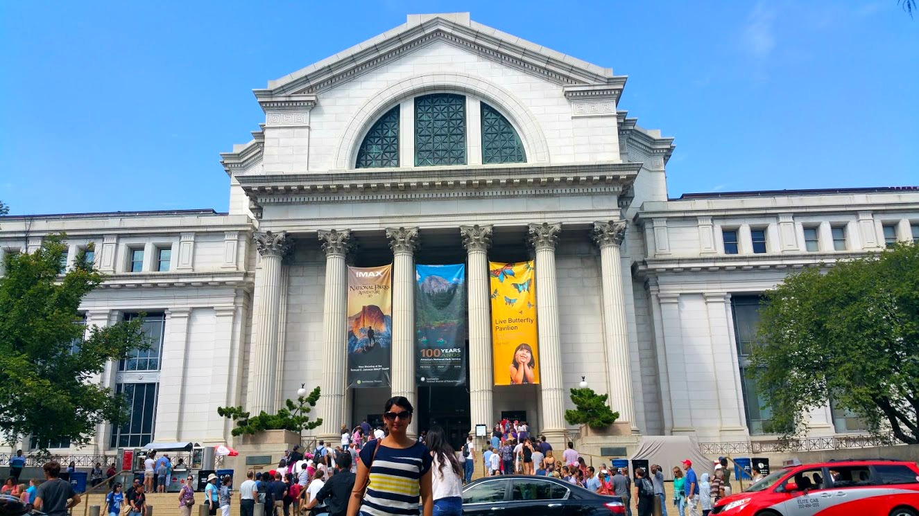 DC is a paradise for museum-goers, to the point where most visitors here already know or recognize the Smithsonian Institution and its many free museums.